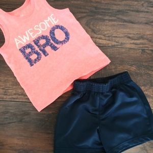 Sports Place Boys Summer Outfit